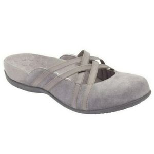 Vionic Rest Clare Mules in Charcoal